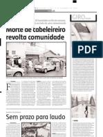 2004.12.13 - Caminhão-baú tomba em Ravena - Estado de Minas