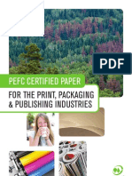 PEFC Certified Paper for the Print, Packaging & Publishing Industries