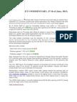 Gold Market Report 27th June English