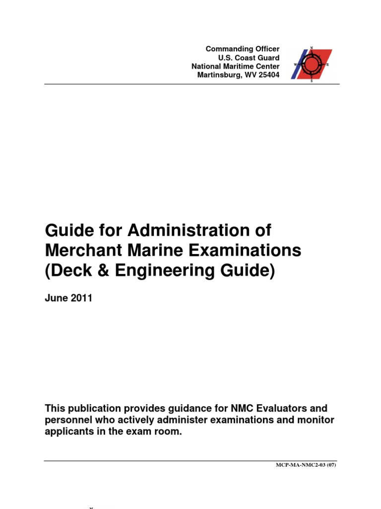 deck and engineering guide united states merchant marine united