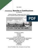 Moneta Banche e Costituzione (Insintesi)