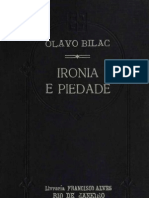 Olavio Bilac Ironia e Piedade