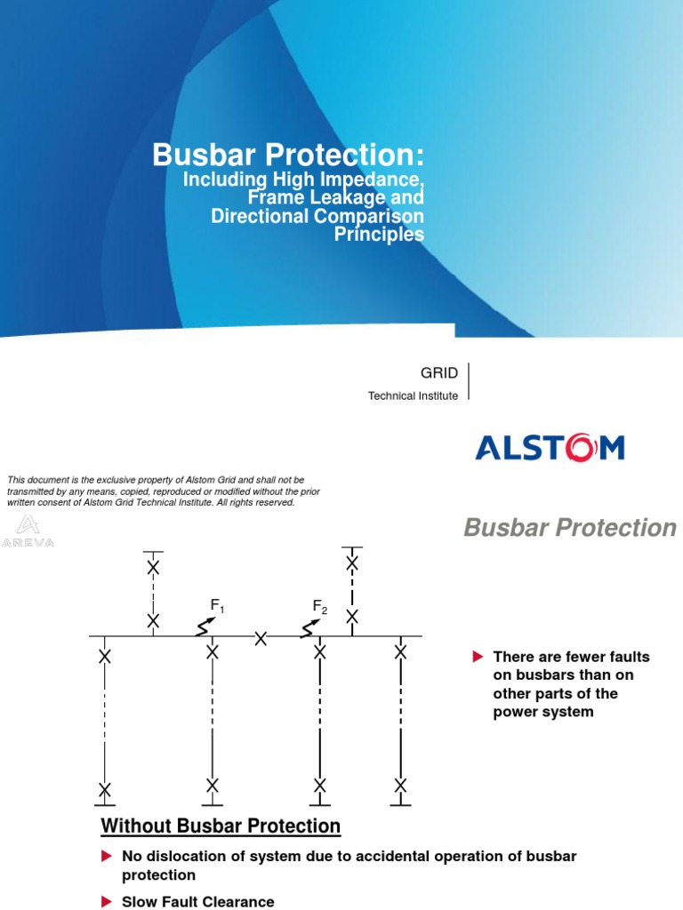 2 Busbar Protection | Relay | Electrical Impedance