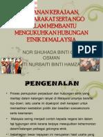 Peranan Kerajaan, Masyarakat Dan Ngo Dalam Membantu Mengukuhkan Hubungan Etnik Di Malaysia
