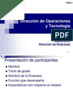 Gestión de Operaciones parte I_año 2012