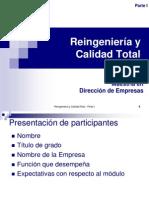 Reingeniería y Calidad Total_parte I