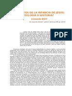 Boff, L., Los relatos de la infancia de Jesús