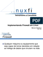 Palestra - Implementando Firewall Em Linux_Curso_SI_2008