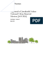 Appraisal of JnNURM Final Report Volume II