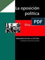 Elisa Medina - La Oposicion Politica