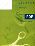 Alvin Goldman - Readings in Philosophy and Cognitive Science