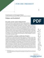 Argumentepapier Religion und Gesellschaft
