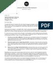 Letter to Senator King re. Student Loan Interest Rates