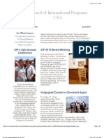 Second Quarterly Newsletter of 2013