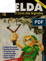 Livro Dos Segredos - The Legend of Zelda - Ocarina of Time (N64)