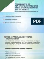 FASES DEL PROCEDIMIENTO DE CONTRATACIÓN ESTATAL SEGÚN EL