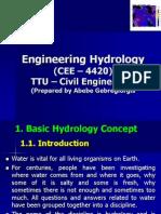 IntroductionHydrology (1)
