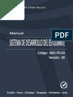 Manual Del Sistema de Desarrollo Del Estudiante