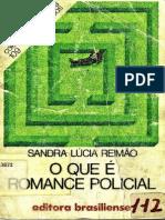 Sandra Lúcia Reimão - O Que é Romance Policial (pdf)(rev)