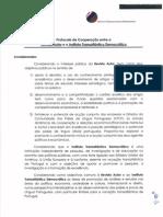 Protocolo entre ITD e Revista Autor
