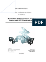 Hybrid PtP/LTE Infrastructure planning focusing on CAPEX-based migration