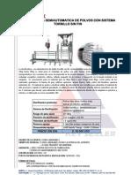 Dosificadora Semiaut Polvos 10-50kg Sacos - Ecuapack