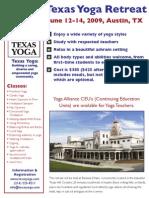 Texas Yoga Retreat