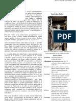 Judas Tadeo - Wikipedia, La Enciclopedia Libre