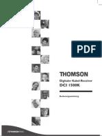 Handbuch Thom Dci1500k