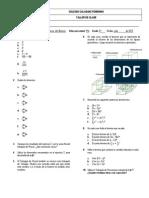 Taller  Teorema del Binomio 8°