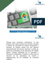ZIBO, Software de Votaciones Electronicas