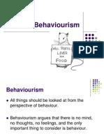 3 Behaviourism