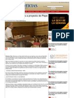 """26-06-2013 """"¡Si!"""" dicen mujeres a proyecto de Pepe Elías"""