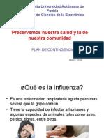 Recomendaciones Contra Influenza FCE BUAP