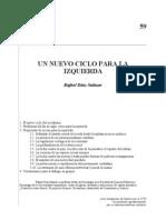 Rafael Díaz Salazar - Nuevas Propuestas para la izquierda