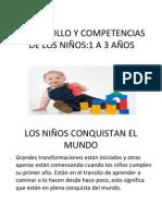 DESARROLLO Y COMPETENCIAS DE LOS NIÑOS (3)