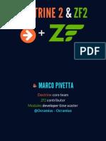Zend 2 Doctrine 2