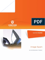 White Paper Image Spam an Increasing Threat