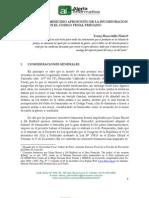 HUACCHILLO NUÑEZ, Yenny. El delito de feminicidio aproposito de la incorporación en el código penal peruano