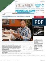 27062013 Promueve liderazgo de la Confederación de Agentes Aduanales