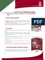 Certificaci de Matafuegos