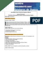 Tercer Encuentro Latinoamericano de Gestores de Danza