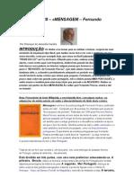 Crónica Nº 139 - MENSAGEM de Fernando Pessoa.