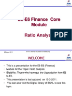 Ratio Analysis CH 3C