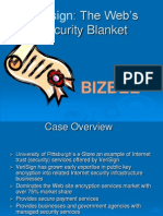 The Web's Security Blanket