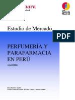 Estudio Mercado Perfumeria y Famacia Peru