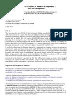ZCCM-IH Register Unfit for Purpose