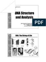 Gene Lecture 9 DNA Structure