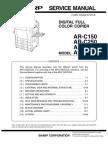 Ar-c270 Service Manual