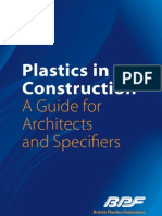 Plastics in Construction
